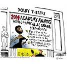Dolby Theatre: 2014 Academy Awards Hosted by Michelle Obama.