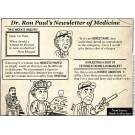 Dr. Ron Paul's Newsletter of Medicine.