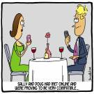 Sally and Doug had met online and were proving to be very compatible...